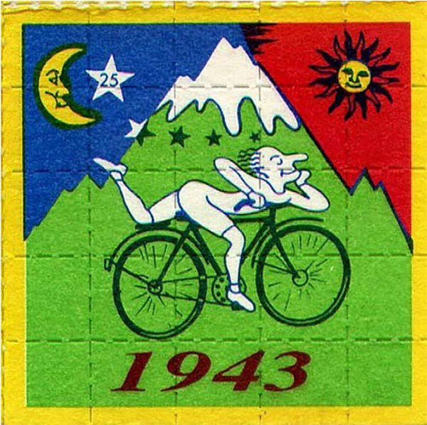 Linden 1922 - 2018 (Bicycle day)
