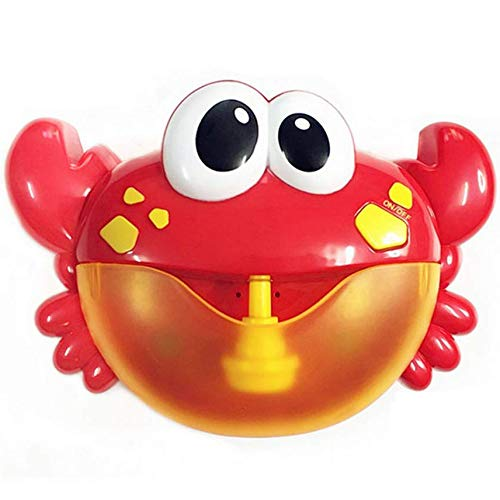 CRAB BUBBLE MACHINE BATH TOY