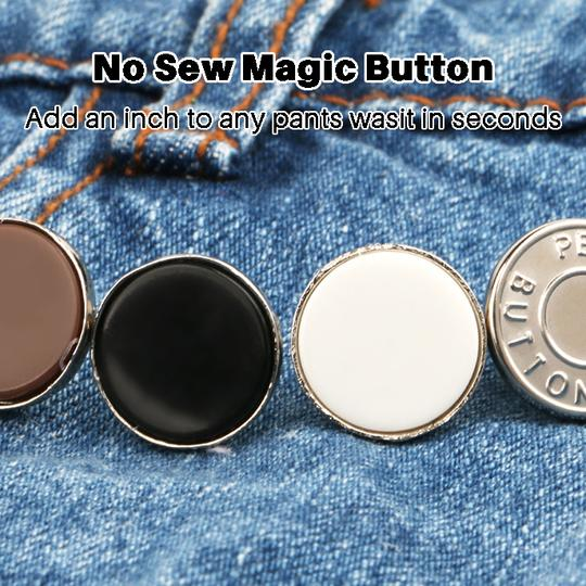 NO SEW MAGIC BUTTON (8 Pcs)