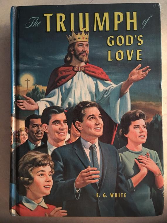 The Triumph of God's Love - 1950's Religious Kitsch