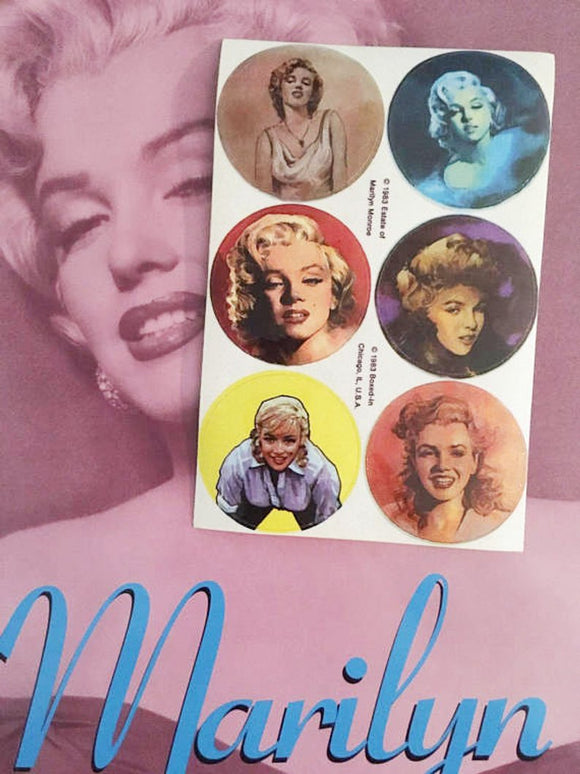 Marilyn Monroe Sticker Sheet
