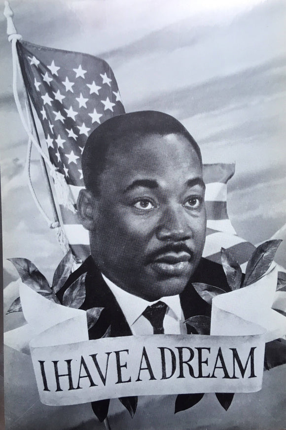 Dr. Martin Luther King Jr. Memorial Postcard - Vintage 1968 New Old Stock