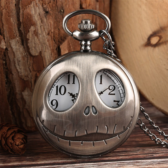 Tim Burton's -The Nightmare Before Christmas Pendant Pocket Watch!