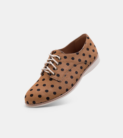 Rollie Derby Whiskey/Black Spot Shoes