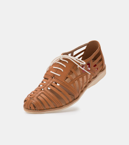 Rollie Derby Cage Tan Shoes
