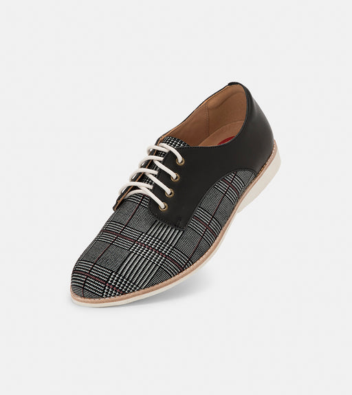 Rollie Derby Prince of Wales/Black Shoes
