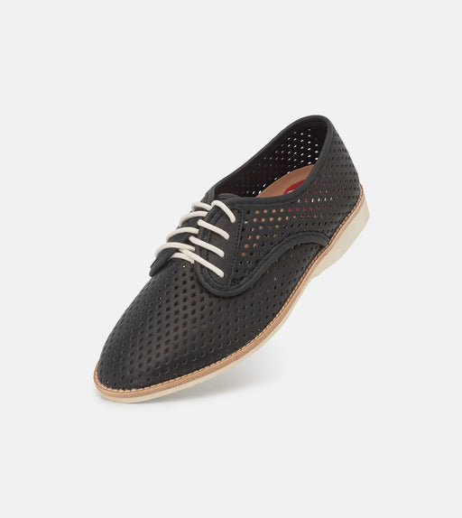 Rollie Derby Punch Black Shoes