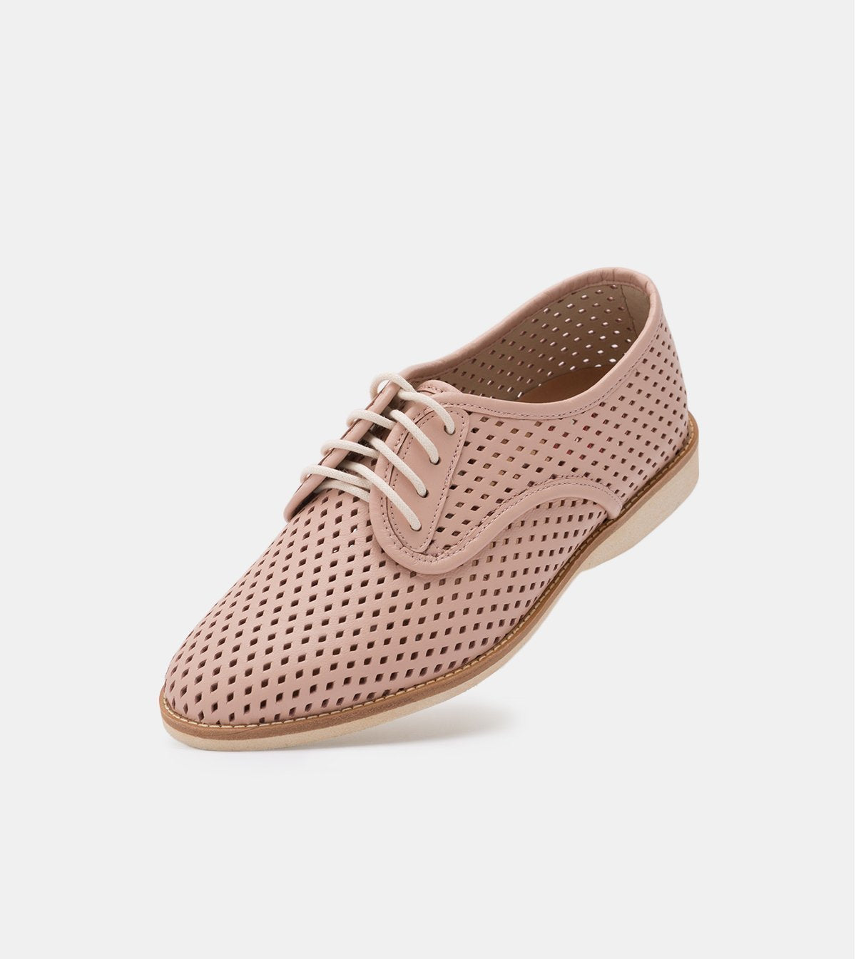Rollie Derby Punch Chalk Pink Shoes