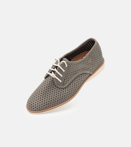 Rollie Derby Punch Charcoal Shoes