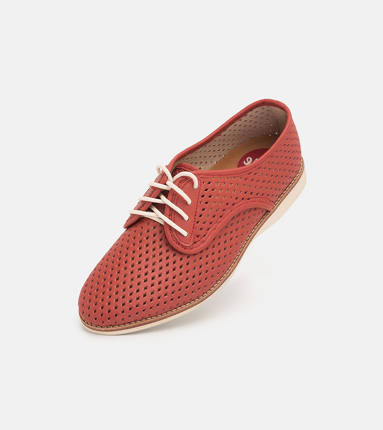 Rollie Derby Punch Red Shoes