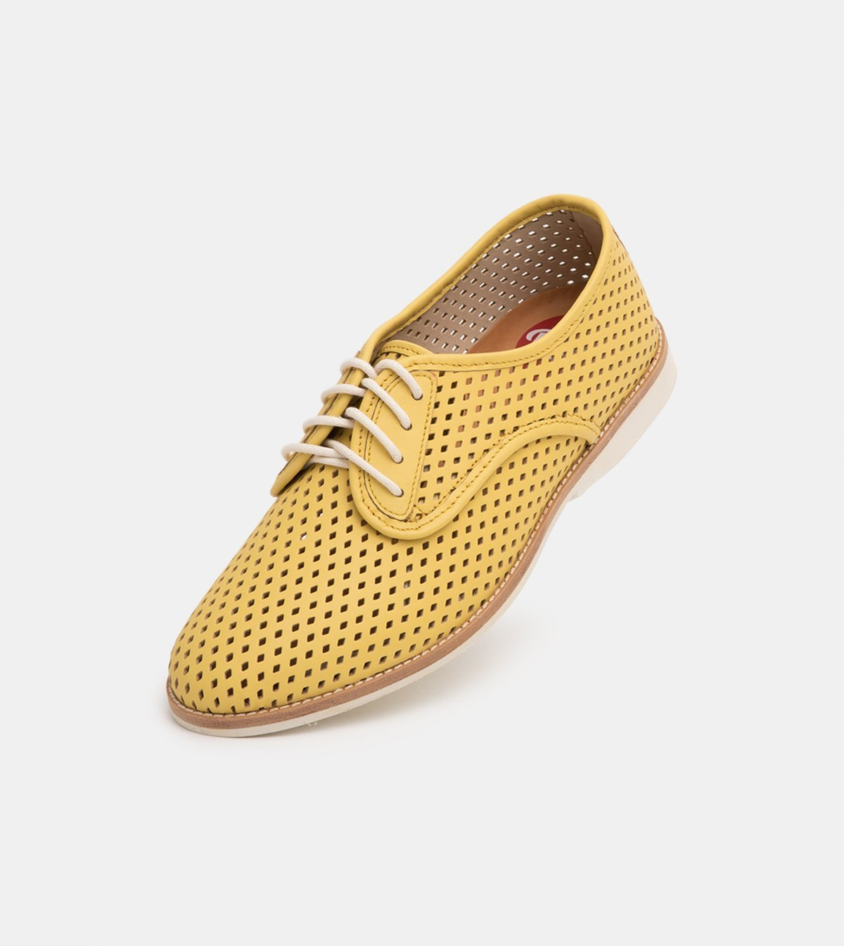 Rollie Derby Punch Yellow Shoes