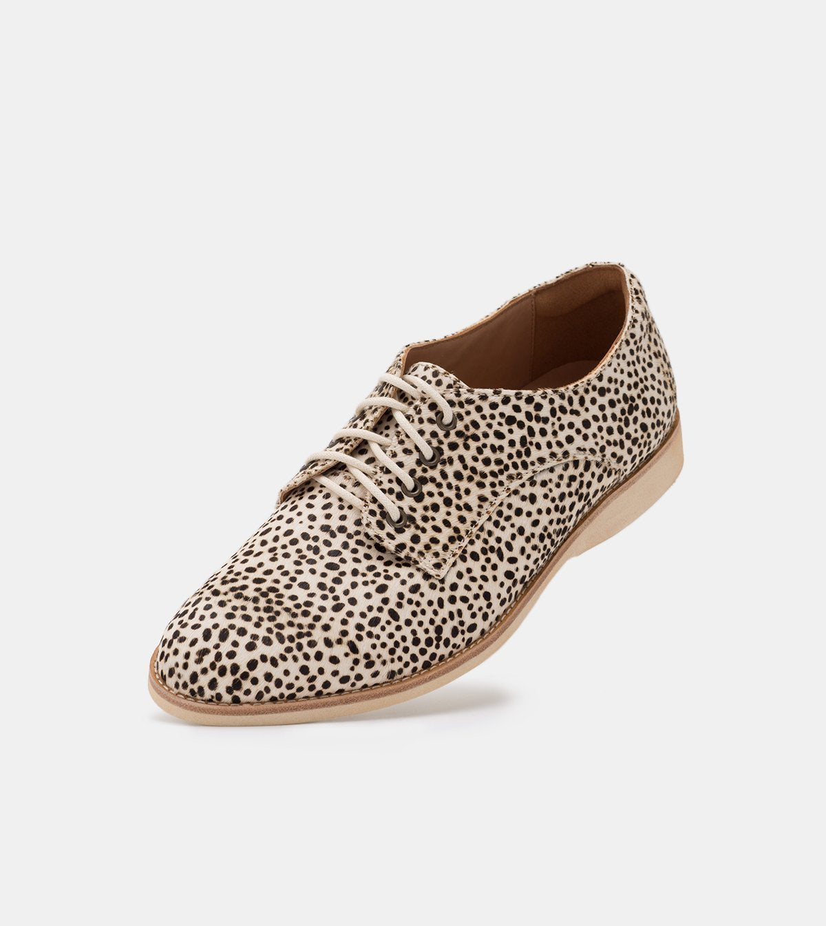 Rollie Derby Snow Leopard Shoes