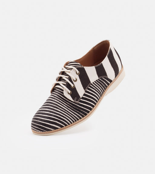 Rollie Derby Zebra Shoes