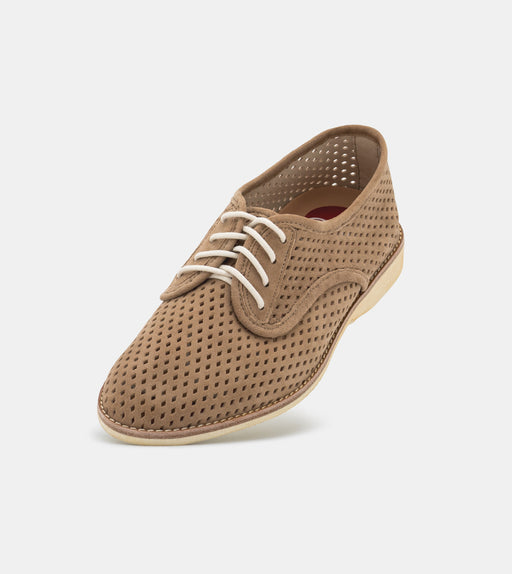 Derby Punch Taupe Suede