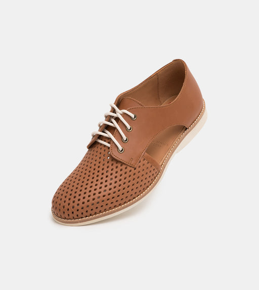 Rollie Sidecut Punch Cognac Shoes