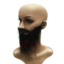 Load image into Gallery viewer, Fake Beard Mustache Facial Hair