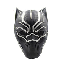 Load image into Gallery viewer, Black Panther King T'Challa Original Silver Mask