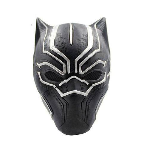 Black Panther King T'Challa Original Silver Mask