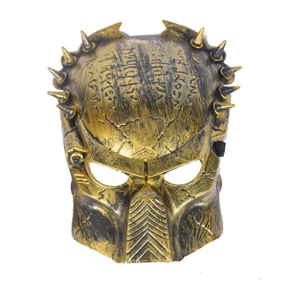 Cool Jagged Spiked Predator Mask