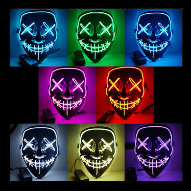 The Purge Famous LED Light Up Mask