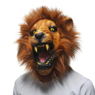 Ferocious Beast Lion Head Animal Mask