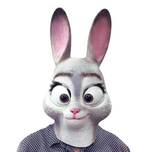 Load image into Gallery viewer, Zootopia Judy Bunny Rabbit Animal Mask