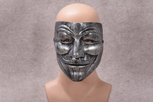 Load image into Gallery viewer, Varnished Vendetta Anonymous Guy Fawkes Mask