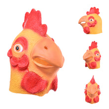 Load image into Gallery viewer, Chicken Rooster Cock Head Animal Mask