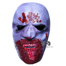 Load image into Gallery viewer, Purple Cannibal Monster Bloody Mask