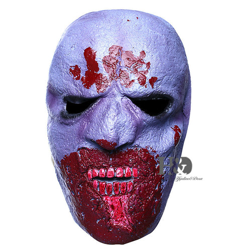 Purple Cannibal Monster Bloody Mask