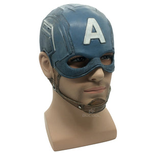 Captain America Realistic DC Superhero Mask
