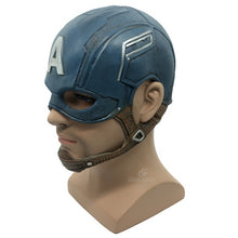 Load image into Gallery viewer, Captain America Realistic DC Superhero Mask