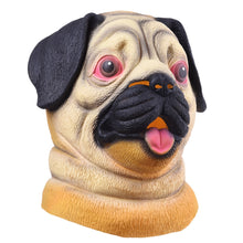 Load image into Gallery viewer, Pug Dog Head Animal Mask