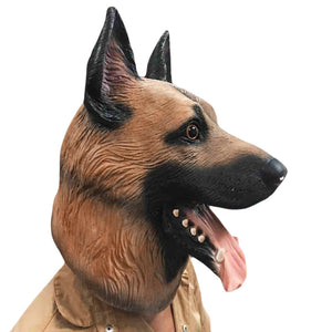 German Shepherd Dog Animal Head Mask