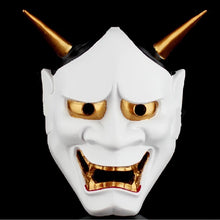 Load image into Gallery viewer, Buddhist Evil Noh Hannya Demon Mask