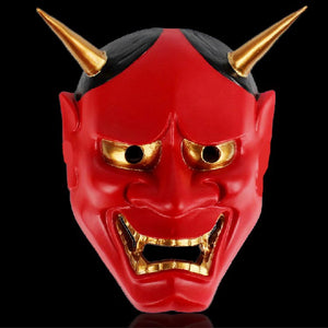 Buddhist Evil Noh Hannya Demon Mask