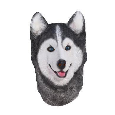 Siberian Husky Dog Animal Head Mask