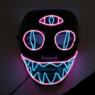 Third Eye Enlightened LED Light Up Party Mask