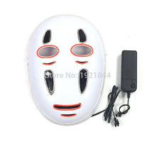 Load image into Gallery viewer, Spirited Away No Face LED Light Up Face Mask