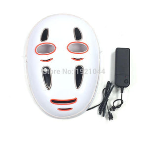 Spirited Away No Face LED Light Up Face Mask