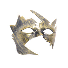 Load image into Gallery viewer, Burnished Venetian Masquerade Mask