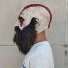 Load image into Gallery viewer, God Of War Kratos Mask with Beard