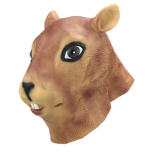 Load image into Gallery viewer, Squirrel Head Animal Mask