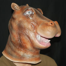 Load image into Gallery viewer, Realistic Hippo Head Animal Mask