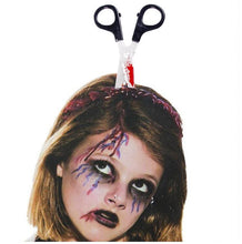 Load image into Gallery viewer, Horror Headband: Scissors