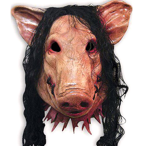 Saw Movie Pig Head Horror Mask