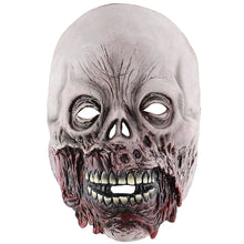 Load image into Gallery viewer, Melting Bloody Zombie Exposed Face Corpse Mask