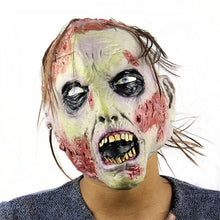 Load image into Gallery viewer, Scary Road Rash Zombie Mask
