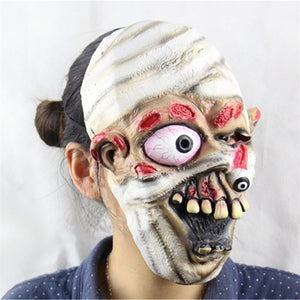 Strange Eye Popping Mummy Mask