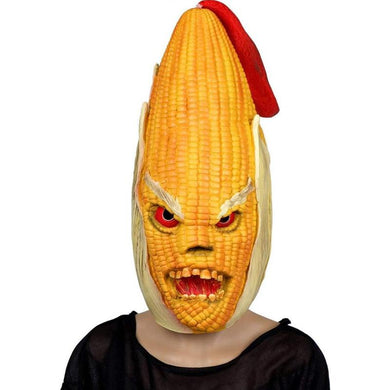 Corn Cob Maize Funny Fall Halloween Mask